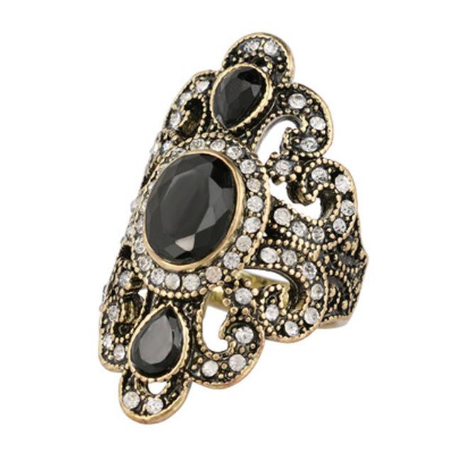 Resin Stone Turkish Ring