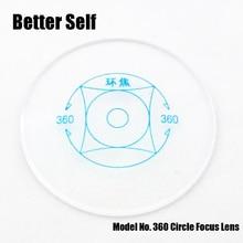 Better Self 156 Index 360 Circle Focus Self Adapting Focus Teen Anti Blue Optical Lens Teenager Glasses
