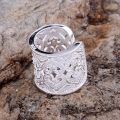 Wholesale silver plated  ring, silver fashion jewelry, hollow cordiform sculptural /hdpapuwa grcapija LQ-R106