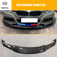 MAD Styling Carbon Fiber Front Bumper Chin Lip for BMW F30 3 Series 318i 320i 328i 335i 340i with M tech M sport Bumper 12 18