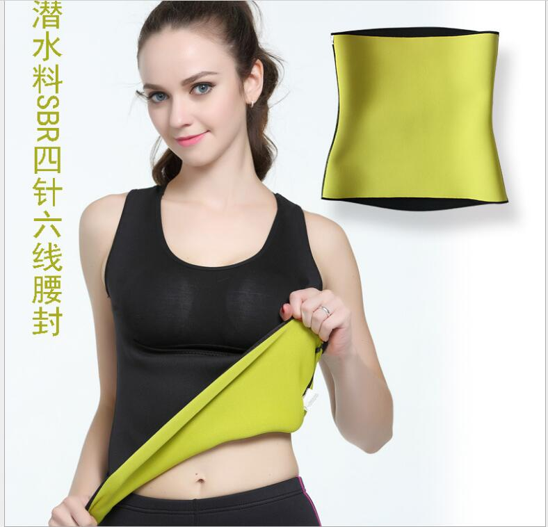 602e16041d56f Hot Shapers Thermal Slimming Waist Belt Shaper Sauna Fitness Slimming  Workout Pants Women Body Shaper Vest