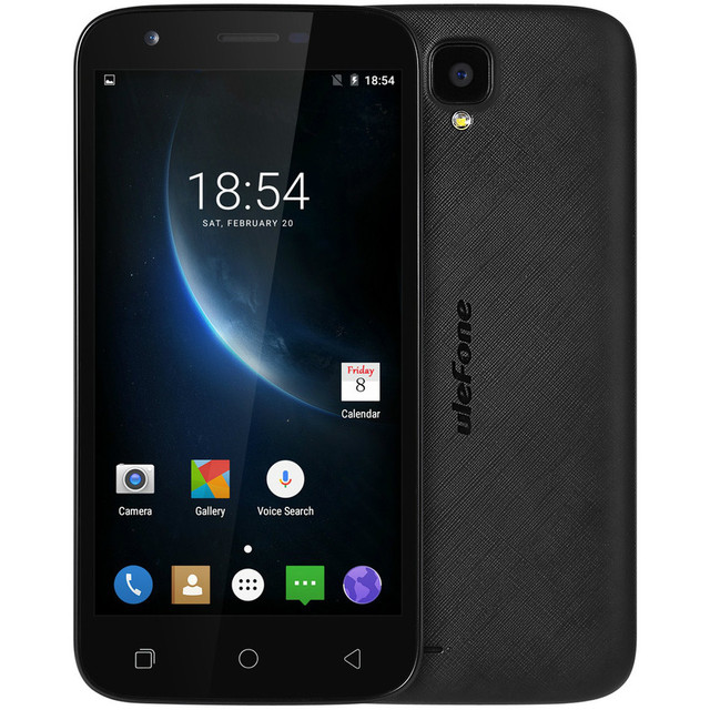 Ulefone U007 Pro MTK6580A Quad Core Cellphone 5.0inch HD Screen Android 6.0 1G RAM 8G ROM Mobile Phone 3G WCDMA Smartphone