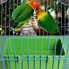 1 шт. пластиковая миска для воды, чашка для купания попугая, клетка для птиц, голубей, песка, чашка для кормления