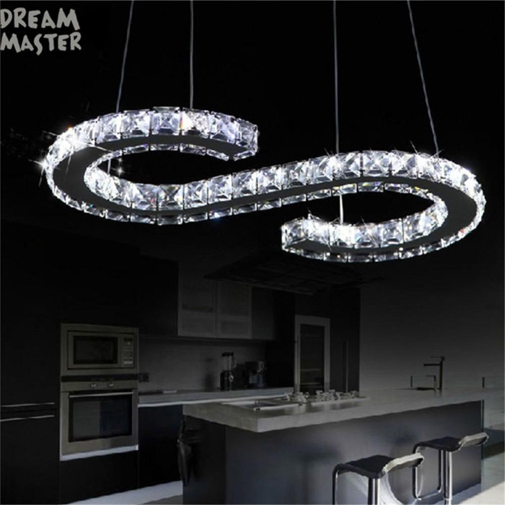 Design Led Crystal Chandelier Lighting