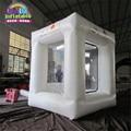 2016 Uno de la torta caliente máquina de reciclaje de efectivo cubo metálico inflable juguetes inflables de la promoción