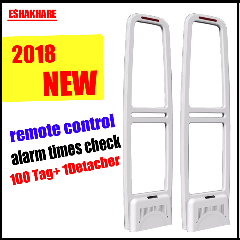 1 set 58Khz eas security alarm system cloth anti theft system retail store loss prevention system этикетка для этикет пистолета 22х12 мм белая 1000 шт рул