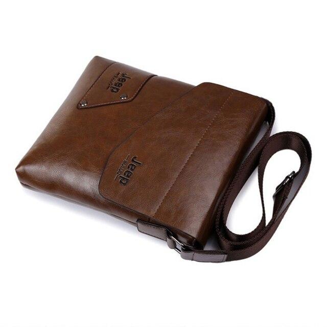 Men messenger bags top leather bag briefcase designer high quality shoulder bag 5