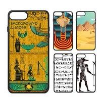 Egypt Mummy Pyramid Cleopatra Totems Pharaoh Cairo Desert Camel Gods Cat Phone Case For IPhone X