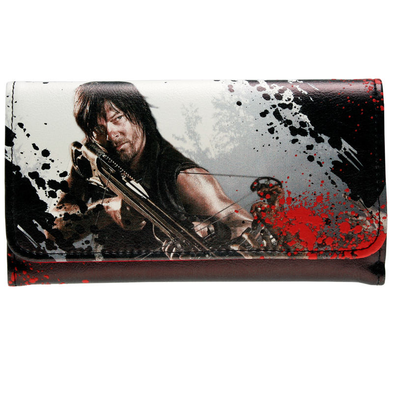 Walking Dead Wallet  Women Purse  DFT-1288