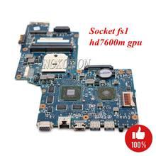 NOKOTION H000051780 Para Toshiba Satellite C855D L850D C850D Laptop Mãe Soquete fs1 DDR3 HD7600M/HD7500M GPU