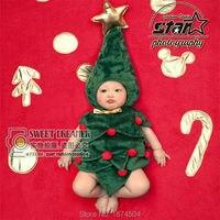 מתנה לחג המולד קוספליי סנטה עץ תינוק בסגנון קריקטורה תחפושות מיקי קיטי ארנב פנדה Romper פעוטות ילד מצחיק יפה