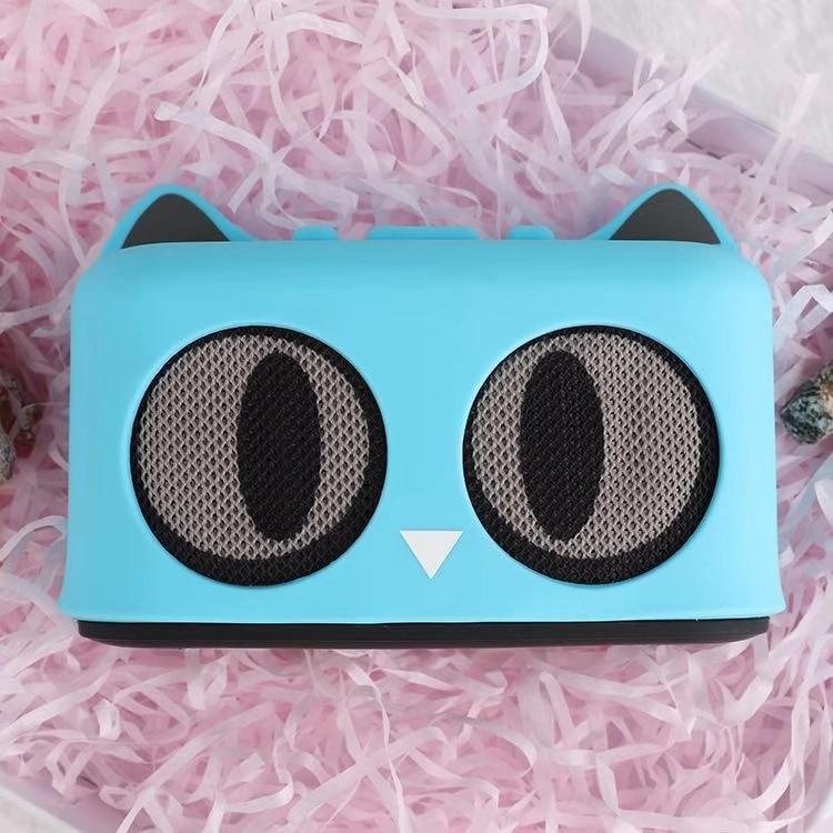Better Choice Of Gifts Cartoon Cat Wireless Bluetooth Speaker Phone Bracket Portable MP3 Music AUX HD Mic Sound Box Subwoofer