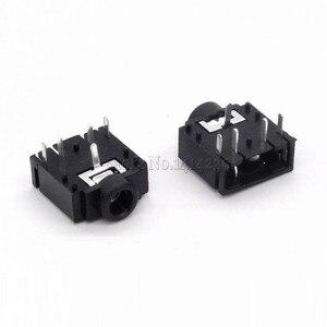 10 шт. 3,5 мм разъем для наушников PJ-307 3F07 аудио разъем PJ307 5PIN черный