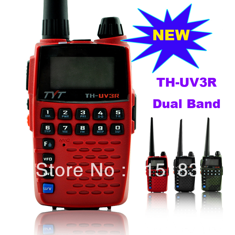 Portable radio set TYT TH-UV3R  Dual Band 2 way radioPortable radio set TYT TH-UV3R  Dual Band 2 way radio