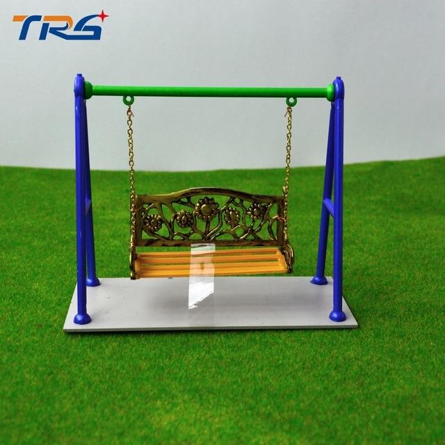 teraysun 12 5 3 10 cm chelle 1 25 m tal jardin balan oire bascule fauteuil suspendu miniature. Black Bedroom Furniture Sets. Home Design Ideas