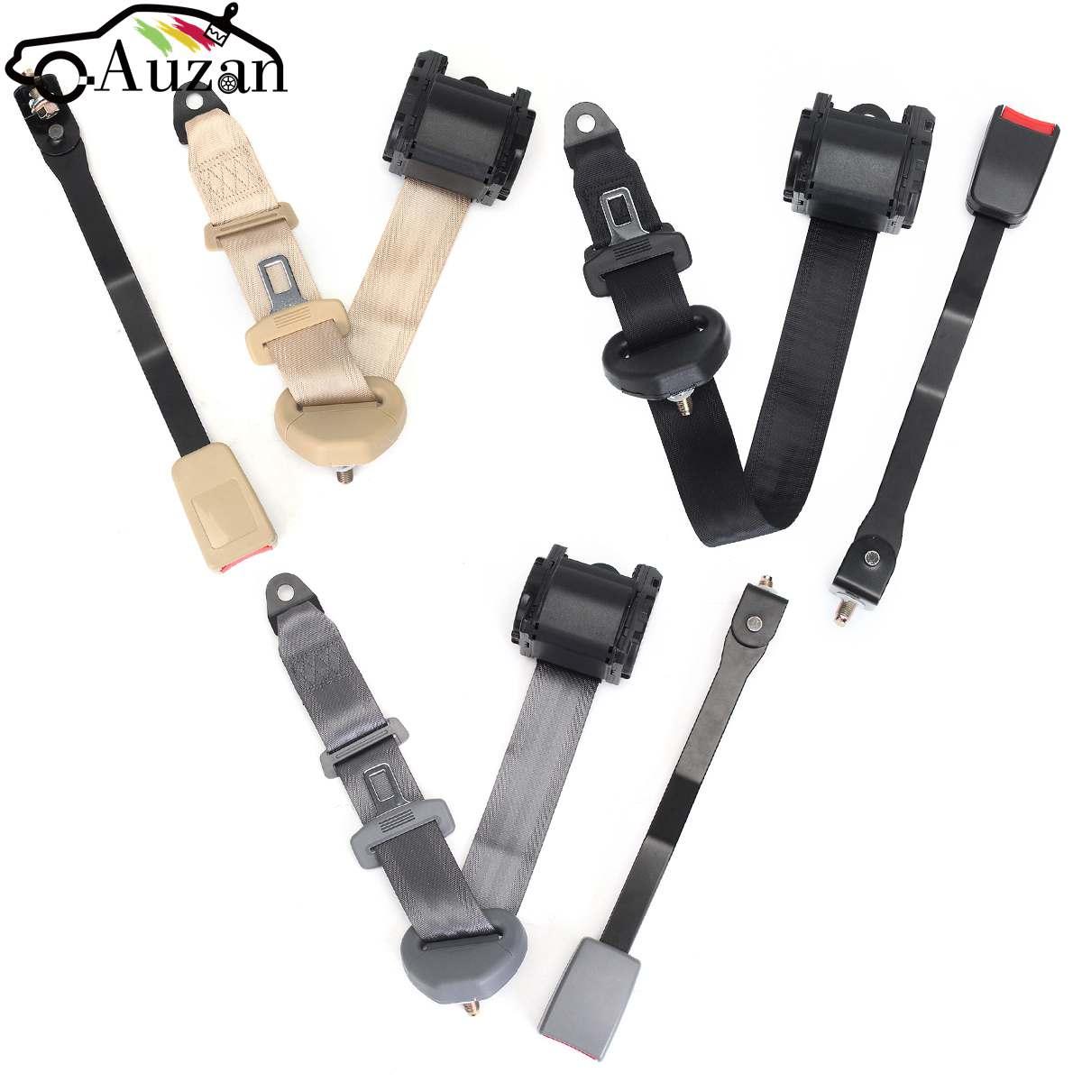 1 Set Universal Car Seat Belts Safety Belt Extender Extension Buckle Adujstable Shoulder Seatbelt Fits Most Car Bus Truck