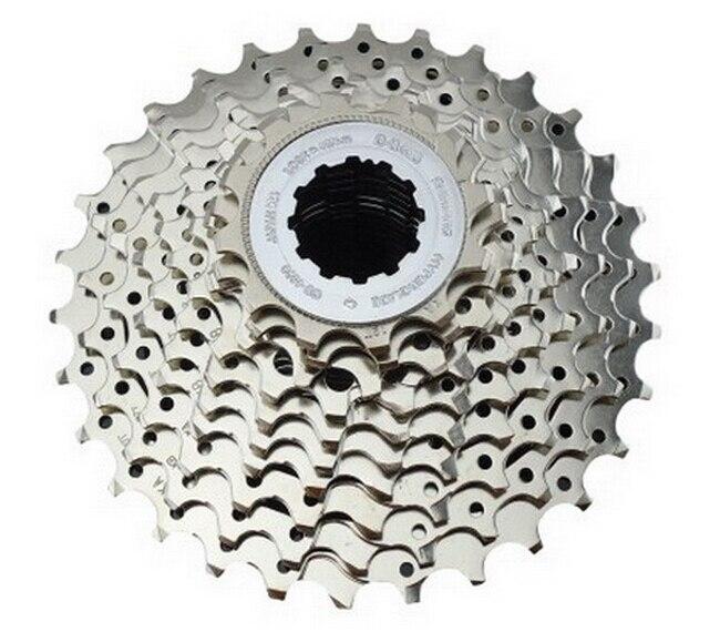 ФОТО free shipping 2015 New 11-25T  cassette road bike 10 Speed Flywheel Mountain Bike Freewheel fold bike Cassette Parts CS-4600