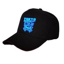 NEW Anime Tokyo Ghoul Logo Sun Printing Cotton Hat Baseball Cap Sport Luminous unisex Accessories Cosplay Hip-Hop Gift