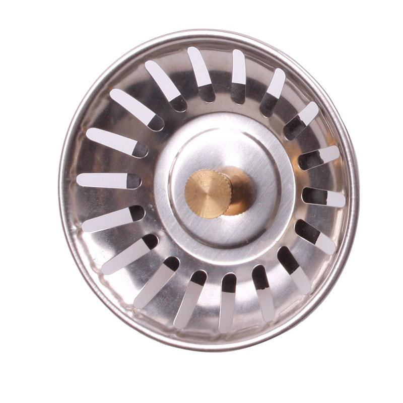 Practical Kitchen Stainless Steel Sink Strainer Waste