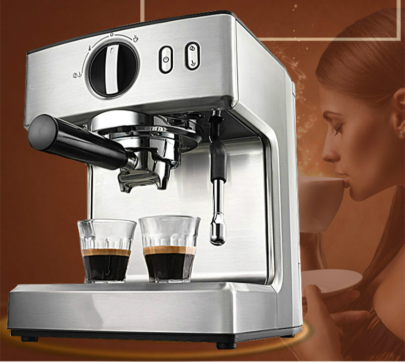Espresso Italian semi-automatic coffee machine commercial milk Espresso Coffee Maker professional ce stainless steel electric espresso coffee maker semi automatic 5 10 cups italian coffee machine with milk frother