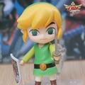 Legend of Zelda Enlace Figura de Zelda Wind Waker HD no densetsu kazeno Takt Q Nendoroid 413 10 CM PVC Figuras de Acción Modelo Rinquedo
