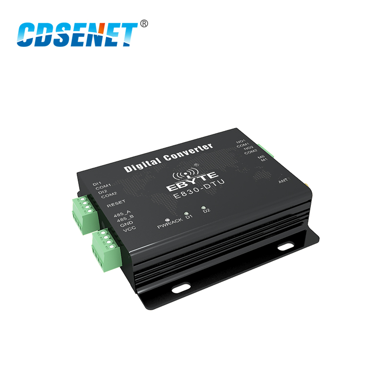 Image 4 - Switch Value Acquisition Wireless Transceiver 433MHz Modbus E830 DTU(2R2 433L) 8km Long Range Transmitter and Receiver-in Fixed Wireless Terminals from Cellphones & Telecommunications