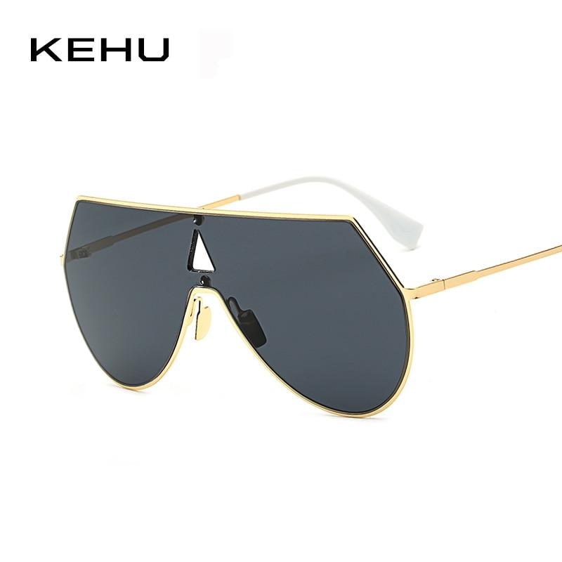 KEHU New Fashion Men Metal Hollow Out Sunglassess
