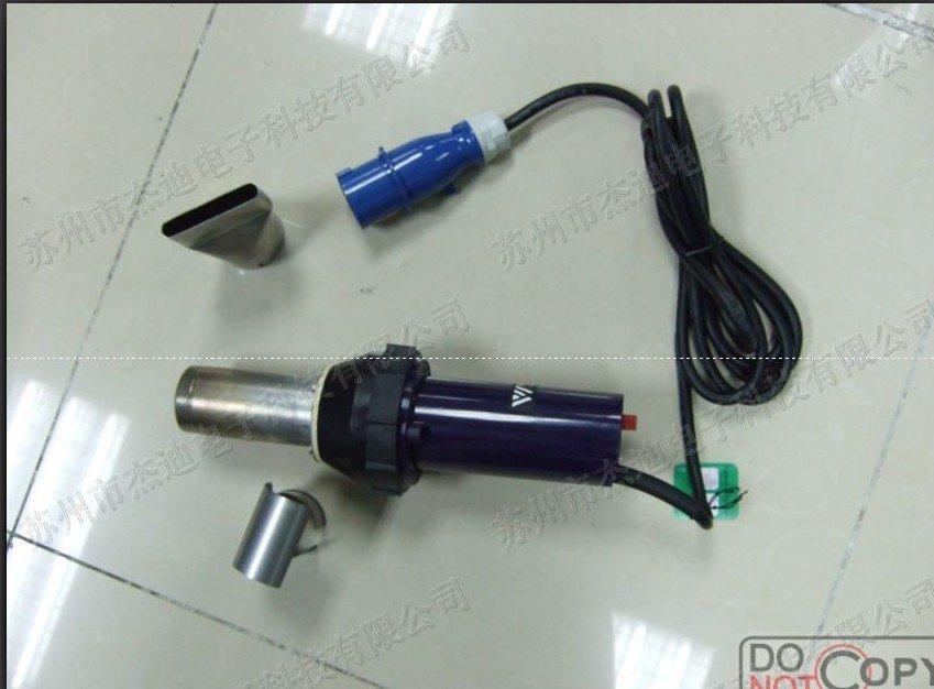 3400 W-os műanyag meleg levegő fegyver / forró levegő műanyag hegesztő pisztoly