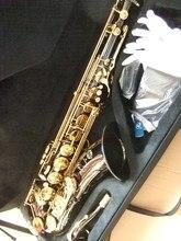 Black 54 Cnbald Saxo Tenor Bemol Saxophone Saxophone Superior Musical Instrument Wear-resistant Black Nickel Gold Sax Prof100812