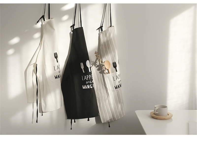Simplicity Style Kitchen Apron Cooking Baking Shop Skirt Bibs Cafe Flower Shop Home Cleaning Aprons Hairdresser Home Overalls_04