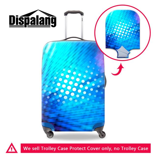 Lugage Dispalang new 3D realista luz dot viagem mala capa protetora elástica à prova d' água saco do trole caso capas para as mulheres