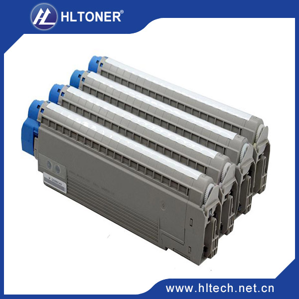 New and Hot selling !!!  Color toner Cartridge Compatible for oki MC860 BK/M/C/Y 4PCS/LOT