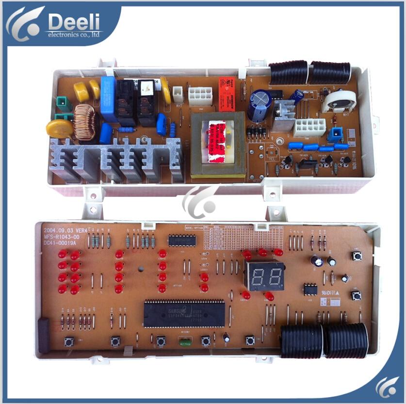 все цены на  95% new Original for Samsung washing machine Computer board WF-R1053S MFS-R1053-00 MFS-S1053-00 motherboard 23 Lights  онлайн