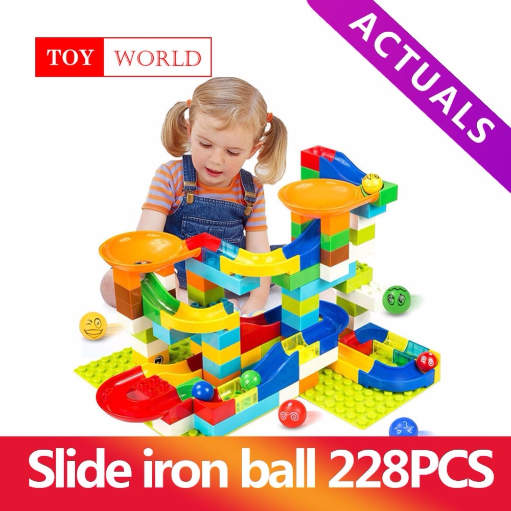 Track, Blocks, Slide, Funnel, Maze, Bricks