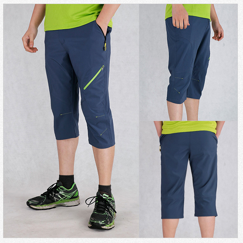 THE ARCTIC LIGHT Men 39 s Outdoor Hiking Summer Quick Dry Elastic Trousers Travel Climbing Camping Trekking Sports Shorts in Hiking Shorts from Sports amp Entertainment