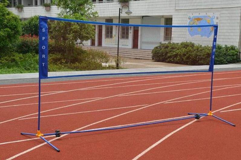 Support portatif de bloc de volant de grille de Badminton de cadre de filet de Badminton de 5.1 M avec le sac de tissu d'oxford