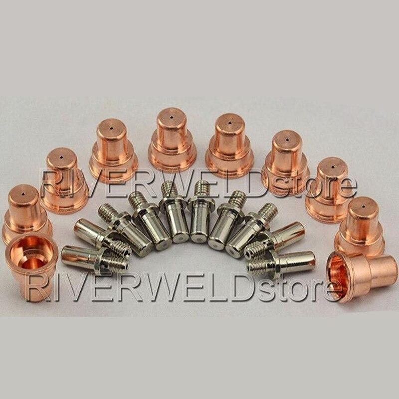 742 0083 Plasma Tips Electrodes 742 0016 Fit BINZEL PSB31KK Torch 20pcs