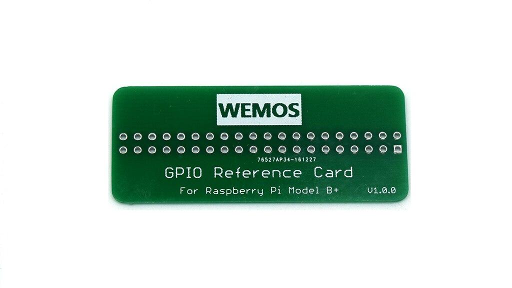 Tarjeta de referencia wemos GPIO V1.0.0 Board Para Raspberry Pi Modelo B //Pi 2//Pi 3