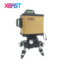 XEAST XE 93G Electronic Leveling 12 Line 3D Laser Level High Precision Green Laser Level Lithium