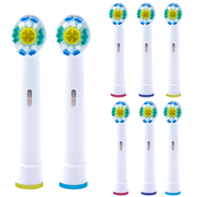 8 PCS Replacement 3D White Toothbrush Heads for Oral b Toothbrush Heads Compatible with The Entire Lineup of Oral-B Toothbrush 12 pcs 3d pro white toothbrush heads for oral b toothbrush heads braun oral b brush heads compatible with oral b toothbrush