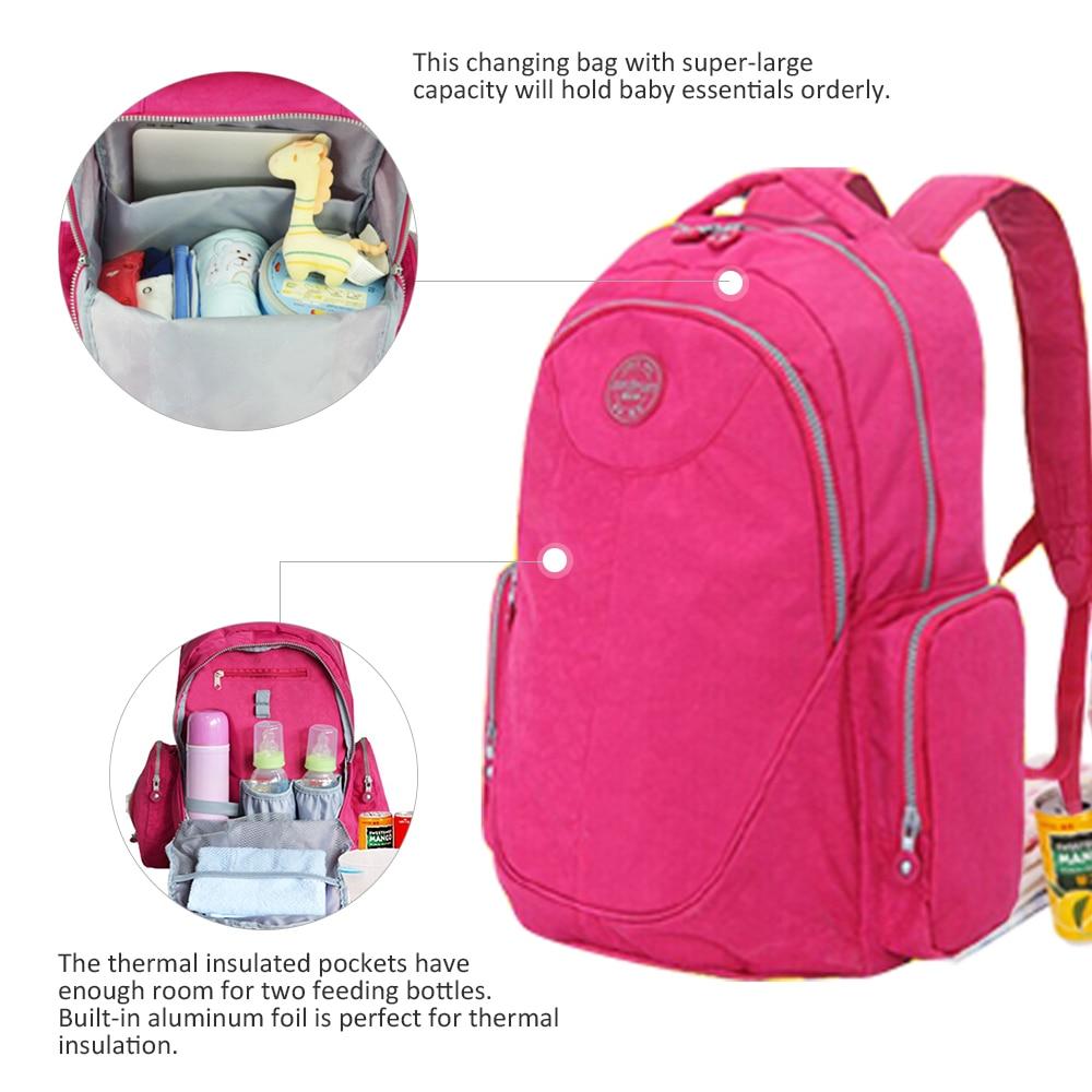 New Diaper Bag Waterproof Mumi Tas Mom Travel Package Tas Travel Ibu