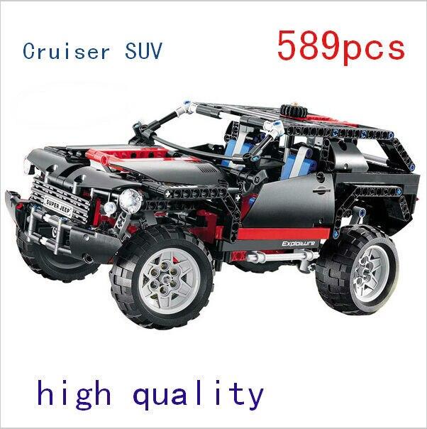 ФОТО Decool 3341 Transport Cruiser SUV 589pcs Racing Car Model Building Block Sets Educational DIY Bricks kids diy Toys building sets