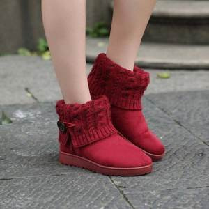 3992646e551 GAYESIN snow boots female ankle boots women winter shoes