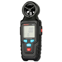 MESTEK AM600 Digital Anemometer Handheld High Precision Portable LCD Wind Speed Measuring Meter Speed Measuring Instruments