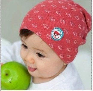 2013 Super Meng wild baby hat children cotton hat Korean version of the newborn baby cap head cap wholesale Free shipping