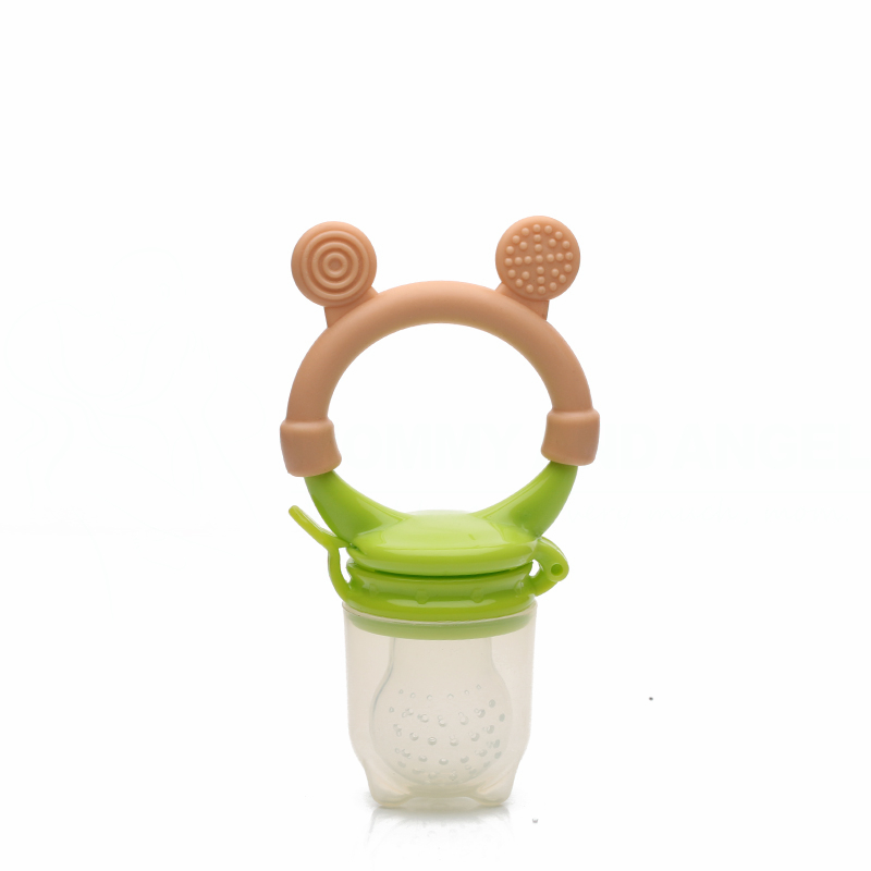 HOT SELLING Classic Baby Feeding Bottles Safety Fresh Food Fruits Milk Nibbler Feeder Feeding Tool (Size:S-M-L,2 Colour,PA-017)