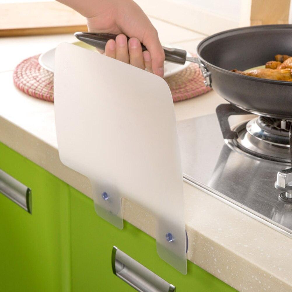 High Quality 1pcs New Creative Kitchen Wash Basin Er Plastic Water Splash Guards Dish Washing Baffle