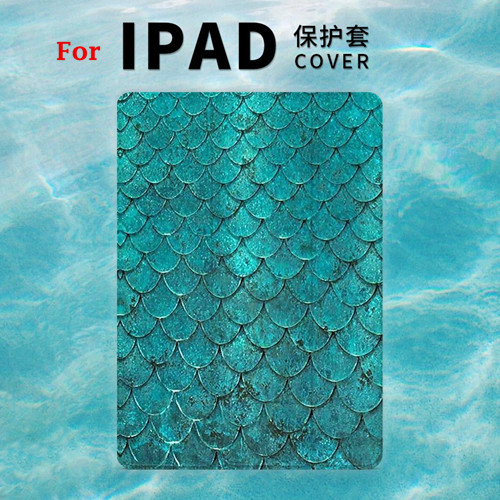 Mermaid scale Magnet PU Leather Case Flip Cover For iPad Pro 9.7 10.5 Air Air2 Mini 1 2 3 4 Tablet Case For New ipad 9.7 2017 personal magnet pu leather case flip cover for ipad pro 9 7 10 5 air air2 mini 1 2 3 4 tablet case for new ipad 9 7 2017 a1822