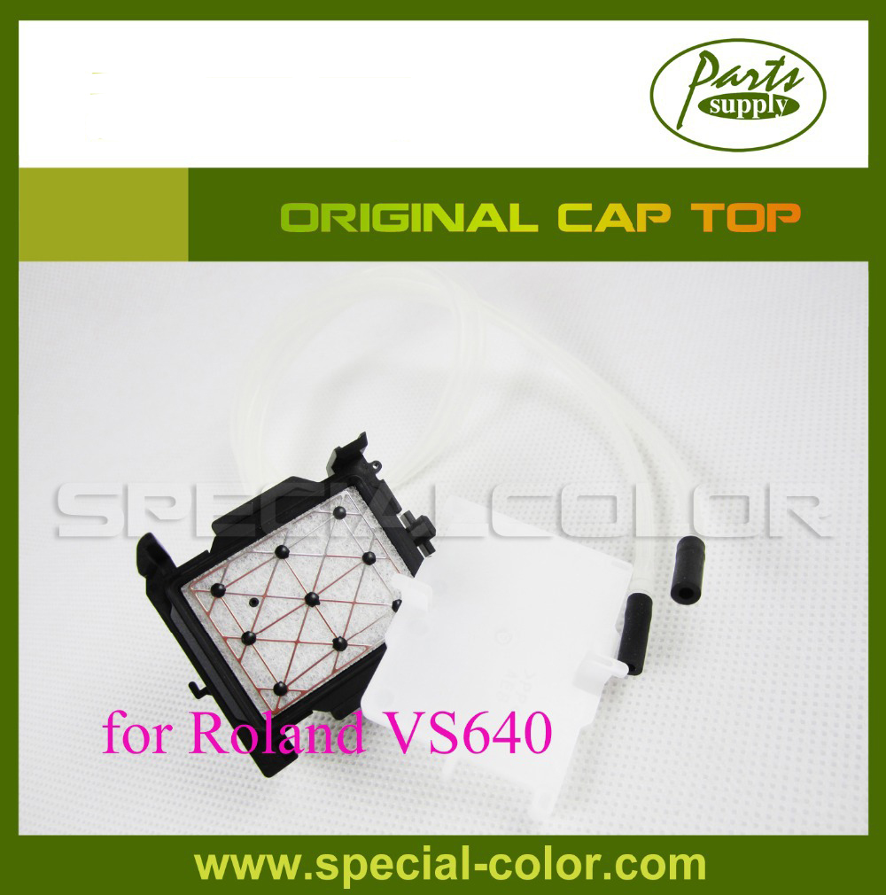 Original DX7 Head Cap Station Original Roland Cap Top for VS640 6pcs lot dx7 solvent cap top mutoh 1618 capping station protect head