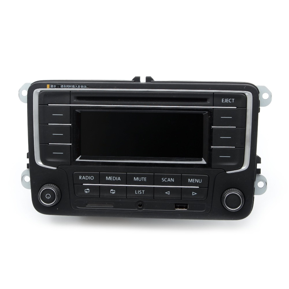 KEOGHS Original 3AD 035 185 Car Radio MP3 Payer with AUX USB SD Memory Card Input For VW Golf MK5 Jetta Tiguan Passat Polo 6R new 3ad 035 185 car radio with usb aux mp3 sd card for vw golf jetta mkv tiguan passat cc new polo 6r 3ad035185